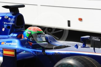 World © Octane Photographic Ltd. Carlin - GP2/11 – Sergio Canamasas. Friday 2nd September 2016, GP2 Practice, Monza, Italy. Digital Ref : 1698LB1D6010