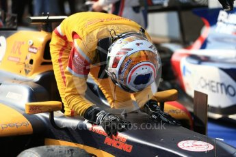 World © Octane Photographic Ltd. Prema Racing - GP2/11 – Antonia Giovinazzi. Saturday 3rd September 2016, GP2 Race 1 Parc Ferme, Monza, Italy. Digital Ref :1700LB2D6691