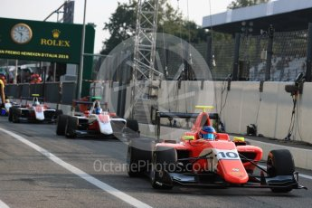 World © Octane Photographic Ltd. Arden International – GP3/16 – Tatiana Calederon and ART Grand Prix – Nyck de Vries. Friday 2nd September 2016, GP3 Practice, Spa-Francorchamps, Belgium. Digital Ref : 1702LB1D6842