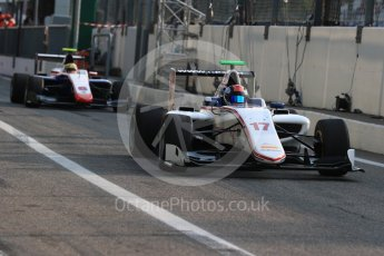 World © Octane Photographic Ltd. Koiranen GP - GP3/16 – Ralph Boschung and Trident – GP3/16 – Artur Janosz. Friday 2nd September 2016, GP3 Practice, Spa-Francorchamps, Belgium. Digital Ref : 1702LB1D6885