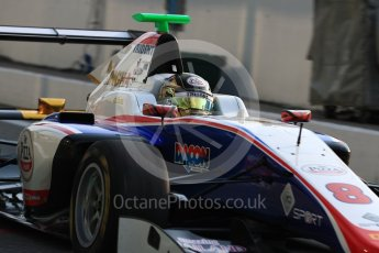 World © Octane Photographic Ltd. Trident – GP3/16 – Sandy Stuvik. Friday 2nd September 2016, GP3 Practice, Spa-Francorchamps, Belgium. Digital Ref : 1702LB1D6955