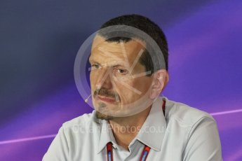 World © Octane Photographic Ltd. F1 Italian GP FIA Personnel Press Conference, Monza, Italy. Friday 2nd September 2016. Guenther Steiner - Team Principal Haas F1 Team. Digital Ref : 1701LB1D6594