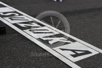 World © Octane Photographic Ltd. Suzuka grid graphic. Sunday 9th October 2016, F1 Japanese GP - Suzuka Circuit, Suzuka, Japan. Digital Ref :1735LB1D7157
