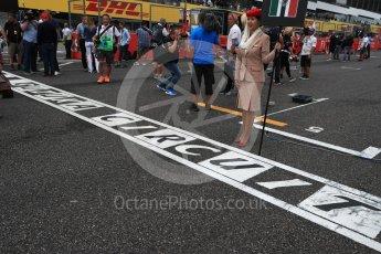 World © Octane Photographic Ltd. Suzuka grid graphic. Sunday 9th October 2016, F1 Japanese GP - Suzuka Circuit, Suzuka, Japan. Digital Ref :1735LB1D7162