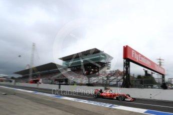 World © Octane Photographic Ltd. Scuderia Ferrari SF16-H – Kimi Raikkonen. Saturday 8th October 2016, F1 Japanese GP - Practice 3, Suzuka Circuit, Suzuka, Japan. Digital Ref : 1732LB1D6426