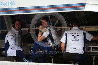 World © Octane Photographic Ltd. Williams Martini Racing, Williams Mercedes - Rob Smedley. Saturday 8th October 2016, F1 Japanese GP - Practice 3, Suzuka Circuit, Suzuka, Japan. Digital Ref : 1732LB2D2960