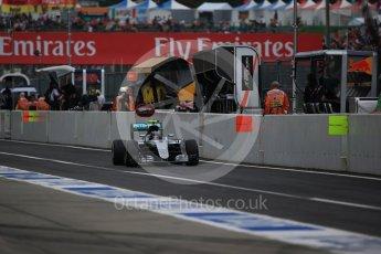 World © Octane Photographic Ltd. Mercedes AMG Petronas W07 Hybrid – Nico Rosberg. Saturday 8th October 2016, F1 Japanese GP - Practice 3. Suzuka Circuit, Suzuka, Japan. Digital Ref : 1732LB2D3227