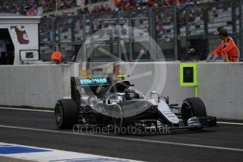 World © Octane Photographic Ltd. Mercedes AMG Petronas W07 Hybrid – Nico Rosberg. Saturday 8th October 2016, F1 Japanese GP - Practice 3. Suzuka Circuit, Suzuka, Japan. Digital Ref : 1732LB2D3435