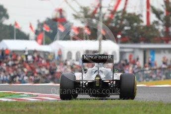 World © Octane Photographic Ltd. Sahara Force India VJM09 - Nico Hulkenberg. Saturday 8th October 2016, F1 Japanese GP - Qualifying, Suzuka Circuit, Suzuka, Japan. Digital Ref : 1733LB1D6472