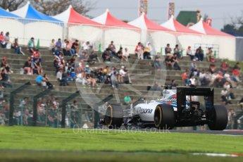 World © Octane Photographic Ltd. Williams Martini Racing, Williams Mercedes FW38 – Felipe Massa. Saturday 8th October 2016, F1 Japanese GP - Qualifying, Suzuka Circuit, Suzuka, Japan. Digital Ref : 1733LB1D6779