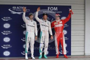 World © Octane Photographic Ltd. Mercedes AMG Petronas W07 Hybrid – Nico Rosberg followed by Lewis Hamilton and Scuderia Ferrari SF16-H – Kimi Raikkonen. Saturday 8th October 2016, F1 Japanese GP - Qualifying. Suzuka Circuit, Suzuka, Japan. Digital Ref : 1733LB1D6883