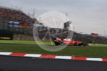 World © Octane Photographic Ltd. Scuderia Ferrari SF16-H – Kimi Raikkonen. Saturday 8th October 2016, F1 Japanese GP - Qualifying, Suzuka Circuit, Suzuka, Japan. Digital Ref : 1733LB2D4010