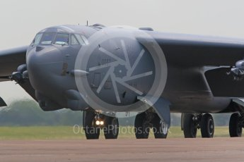 "World © Octane Photographic Ltd. 7th June 2016. RAF Fairford. Boeing B-52H-135-BW Stratofortress. MT 60-0007 (MSN 464372) 23d Bomb Squadron (23 BS) ""Bomb Barons"". Digital Ref :1579CB1D2948"