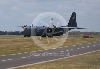 World © Octane Photographic Ltd. 3rd May 2016 RAF Lakenheath, USAF (United States Air Force) 86th Airlift Wing C-130J Hercules 88607. Digital Ref : 1531CB1D9734