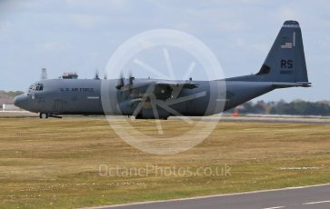 World © Octane Photographic Ltd. 3rd May 2016 RAF Lakenheath, USAF (United States Air Force) 86th Airlift Wing C-130J Hercules 88607. Digital Ref : 1531CB1D9737