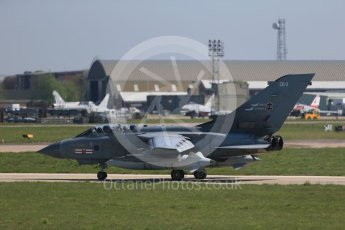 World © Octane Photographic Ltd. May 9th 2016 RAF Coningsby. Panavia Tornado GR.4, EB-X, ZA607. Digital Ref :