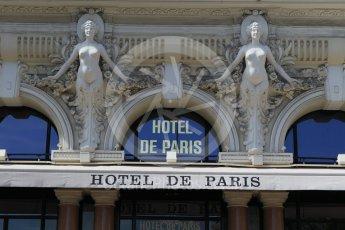 World © Octane Photographic Ltd. Hotel de Paris. Saturday 28th May 2016, F1 Monaco GP Practice 3, Monaco, Monte Carlo. Digital Ref : 1568CB1D7926