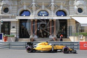 World © Octane Photographic Ltd. Renault Sport F1 Team RS16 - Kevin Magnussen. Saturday 28th May 2016, F1 Monaco GP Practice 3, Monaco, Monte Carlo. Digital Ref : 1568CB1D7948