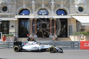 World © Octane Photographic Ltd. Williams Martini Racing, Williams Mercedes FW38 – Felipe Massa. Saturday 28th May 2016, F1 Monaco GP Practice 3, Monaco, Monte Carlo. Digital Ref : 1568CB1D7962