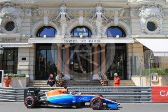 World © Octane Photographic Ltd. Manor Racing MRT05 - Pascal Wehrlein. Saturday 28th May 2016, F1 Monaco GP Practice 3, Monaco, Monte Carlo. Digital Ref : 1568CB1D7988