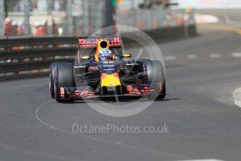 World © Octane Photographic Ltd. Red Bull Racing RB12 – Daniel Ricciardo. Saturday 28th May 2016, F1 Monaco GP Practice 3, Monaco, Monte Carlo. Digital Ref : 1568CB7D1975