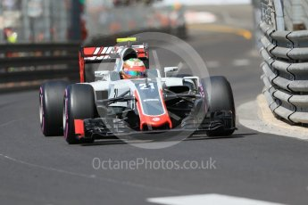 World © Octane Photographic Ltd. Haas F1 Team VF-16 - Esteban Gutierrez. Saturday 28th May 2016, F1 Monaco GP Practice 3, Monaco, Monte Carlo. Digital Ref : 1568CB7D1999