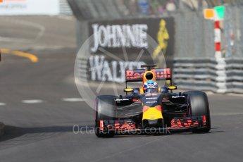 World © Octane Photographic Ltd. Red Bull Racing RB12 – Daniel Ricciardo. Saturday 28th May 2016, F1 Monaco GP Practice 3, Monaco, Monte Carlo. Digital Ref : 1568CB7D2006