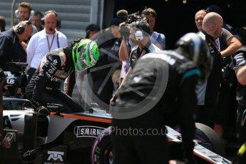 World © Octane Photographic Ltd. Sahara Force India VJM09 - Nico Hulkenberg. Saturday 28th May 2016, F1 Monaco GP Practice 3, Monaco, Monte Carlo. Digital Ref : 1568LB1D0108