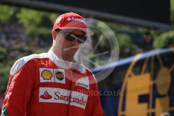 World © Octane Photographic Ltd. Scuderia Ferrari – Kimi Raikkonen. Saturday 28th May 2016, F1 Monaco GP Practice 3, Monaco, Monte Carlo. Digital Ref : 1568LB1D9293