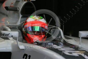 World © Octane Photographic Ltd. Haas F1 Team VF-16 - Esteban Gutierrez. Saturday 28th May 2016, F1 Monaco GP Practice 3, Monaco, Monte Carlo. Digital Ref : 1568LB1D9385