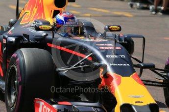 World © Octane Photographic Ltd. Red Bull Racing RB12 – Max Verstappen. Saturday 28th May 2016, F1 Monaco GP Practice 3, Monaco, Monte Carlo. Digital Ref : 1568LB1D9640