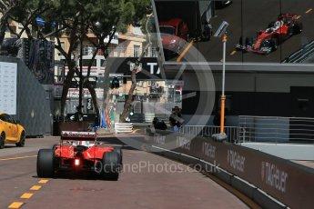 World © Octane Photographic Ltd. Scuderia Ferrari SF16-H – Sebastian Vettel. Saturday 28th May 2016, F1 Monaco GP Practice 3, Monaco, Monte Carlo. Digital Ref : 1568LB1D9761