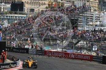 World © Octane Photographic Ltd. Renault Sport F1 Team RS16 – Jolyon Palmer. Saturday 28th May 2016, F1 Monaco GP Practice 3, Monaco, Monte Carlo. Digital Ref : 1568LB1D9953