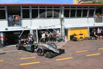 World © Octane Photographic Ltd. Sahara Force India VJM09 - Nico Hulkenberg. Saturday 28th May 2016, F1 Monaco GP Practice 3, Monaco, Monte Carlo. Digital Ref : 1568LB5D8147