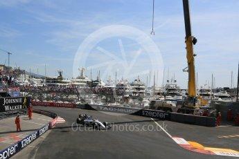 World © Octane Photographic Ltd. Williams Martini Racing, Williams Mercedes FW38 – Felipe Massa. Saturday 28th May 2016, F1 Monaco GP Practice 3, Monaco, Monte Carlo. Digital Ref : 1568LB5D8273