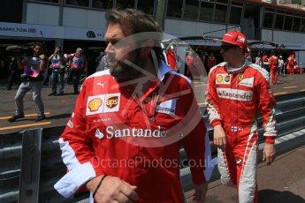 World © Octane Photographic Ltd. Scuderia Ferrari – Sebastian Vettel. Saturday 28th May 2016, F1 Monaco GP Practice 3, Monaco, Monte Carlo. Digital Ref : 1568LB5D8343