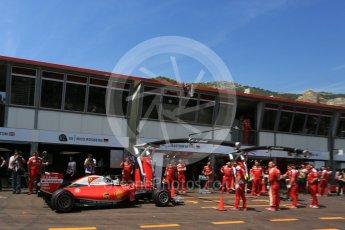World © Octane Photographic Ltd. Scuderia Ferrari SF16-H – Sebastian Vettel. Saturday 28th May 2016, F1 Monaco GP Practice 3, Monaco, Monte Carlo. Digital Ref : 1568LB5D8362