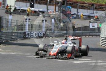 World © Octane Photographic Ltd. Haas F1 Team VF-16 – Romain Grosjean. Saturday 28th May 2016, F1 Monaco GP Qualifying, Monaco, Monte Carlo. Digital Ref : 1569CB1D8242