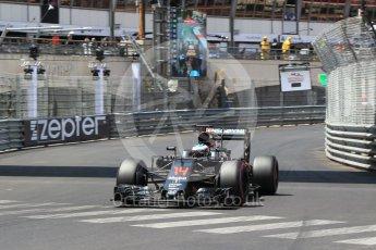 World © Octane Photographic Ltd. McLaren Honda MP4-31 – Fernando Alonso. Saturday 28th May 2016, F1 Monaco GP Qualifying, Monaco, Monte Carlo. Digital Ref :