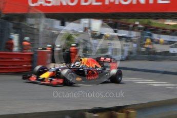 World © Octane Photographic Ltd. Red Bull Racing RB12 – Daniel Ricciardo. Saturday 28th May 2016, F1 Monaco GP Qualifying, Monaco, Monte Carlo. Digital Ref : 1569CB7D2332