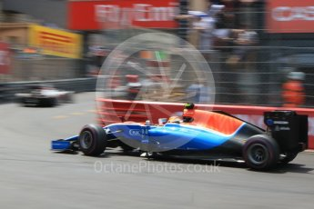 World © Octane Photographic Ltd. Manor Racing MRT05 – Rio Haryanto. Saturday 28th May 2016, F1 Monaco GP Qualifying, Monaco, Monte Carlo. Digital Ref : 1569CB7D2358