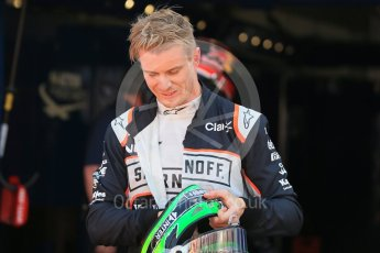 World © Octane Photographic Ltd. Sahara Force India VJM09 - Nico Hulkenberg. Saturday 28th May 2016, F1 Monaco GP Qualifying, Monaco, Monte Carlo. Digital Ref :