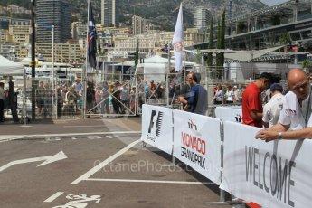 World © Octane Photographic Ltd. Wednesday 25th May 2016, F1 Monaco GP Paddock, Monaco, Monte Carlo. Digital Ref : 1559CB1D6549