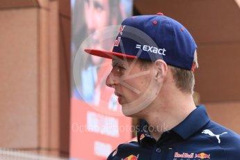 World © Octane Photographic Ltd. Red Bull Racing RB12 – Max Verstappen. Wednesday 25th May 2016, F1 Monaco GP Paddock, Monaco, Monte Carlo. Digital Ref :1559CB7D0050