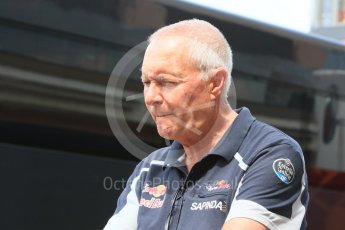 World © Octane Photographic Ltd. Scuderia Toro Rosso director of racing – John Booth. Wednesday 25th May 2016, F1 Monaco GP Paddock, Monaco, Monte Carlo. Digital Ref : 1559CB7D0159