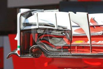 World © Octane Photographic Ltd. Scuderia Ferrari SF16-H – front wing. Wednesday 25th May 2016, F1 Monaco GP Paddock, Monaco, Monte Carlo. Digital Ref :1559CB7D9824