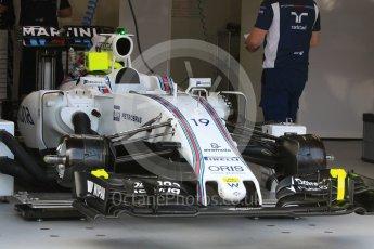 World © Octane Photographic Ltd. Williams Martini Racing, Williams Mercedes FW38 – Felipe Massa. Wednesday 25th May 2016, F1 Monaco GP Paddock, Monaco, Monte Carlo, . Digital Ref :1559CB7D9963