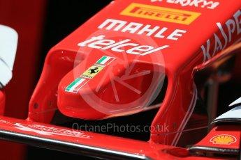 World © Octane Photographic Ltd. Scuderia Ferrari SF16-H nose. Wednesday 25th May 2016, F1 Monaco GP Paddock, Monaco, Monte Carlo. Digital Ref :1559LB1D4175