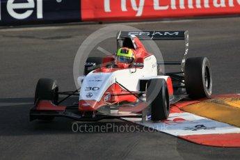 World © Octane Photographic Ltd. Friday 27th May 2015. Formula Renault 2.0 Practice, Cram Motorsport – Henrique Chaves – Monaco, Monte-Carlo. Digital Ref :1565CB1D7593