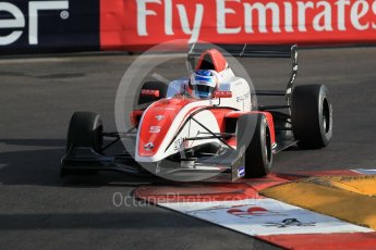 World © Octane Photographic Ltd. Friday 27th May 2015. Formula Renault 2.0 Practice, Fortec Motorsports – Vasily Romanov – Monaco, Monte-Carlo. Digital Ref :1565CB1D7633
